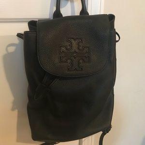 8a6b487ea9ce Tory Burch Bags - Tory Burch Black Leather Harper Backpack